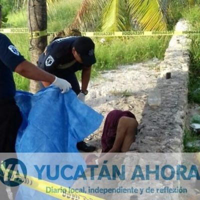 Indigente muere en céntrica playa de Progreso