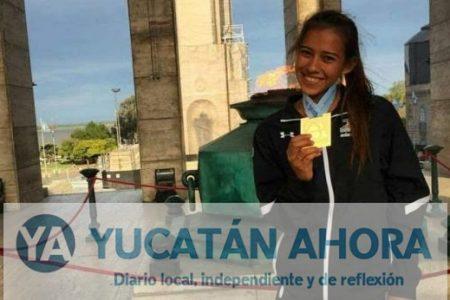 "Arquera yucateca se ""baña"" de oro en Argentina"