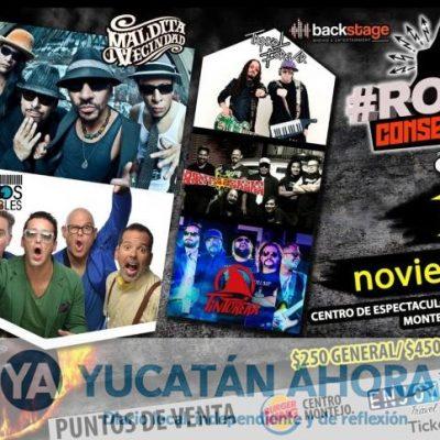 Anuncian a La Maldita Vecindad en festival de rock en Xmatkuil