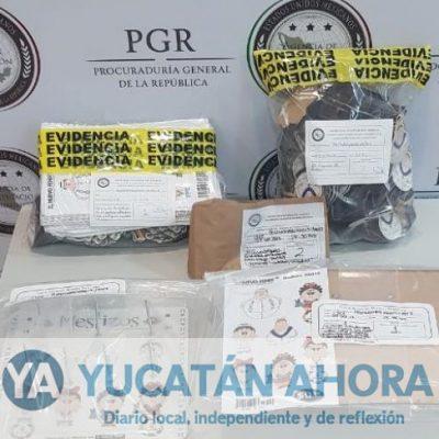 Informa PGR sobre cateo de este medio día en el Centro de Mérida