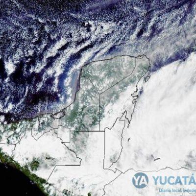 Pronostican choque de frente frío y depresión tropical sobre Yucatán