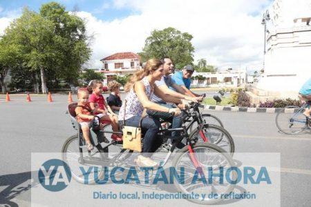 Con recorrido familiar, el alcalde celebra 11 años de la Bici-ruta