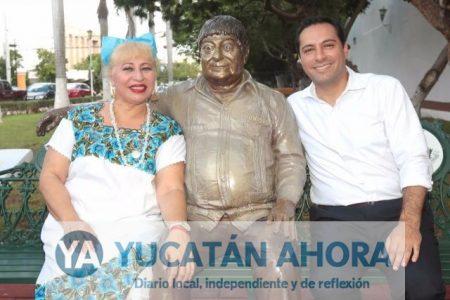 "Mérida inmortaliza a Héctor ""Cholo"" Herrera"