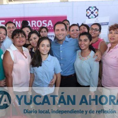 Lanza Mauricio Vila estrategia de combate a la violencia contra la mujer