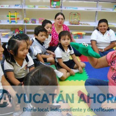 """En Progreso estimulan la creatividad de imaginación con la """"Bebeteca"""""""