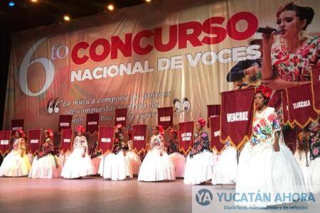 Inaugura Antorcha Concurso Nacional de Voces