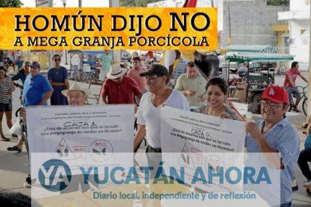 Construcción de mega granja en Homún enfrentará a pobladores y tribunales