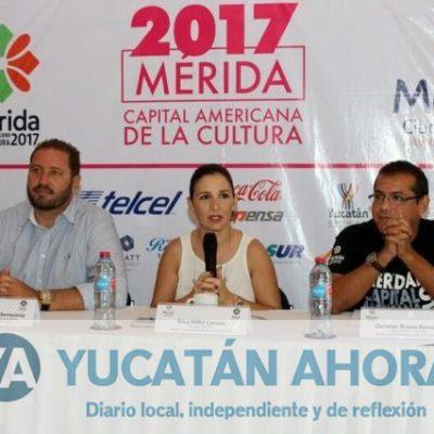 Entra su recta final Mérida, Capital Americana de la Cultura 2017