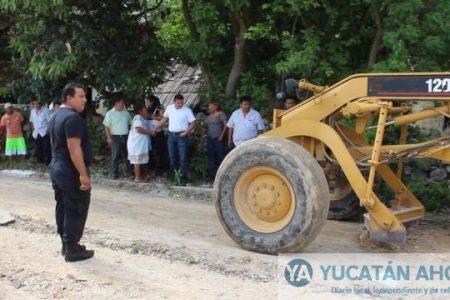 Anuncian pavimentación de calles y más bacheo en Kanasín
