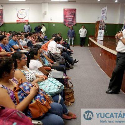 Piden a estudiantes organizarse para combatir drogadicción, alcoholismo y vandalismo