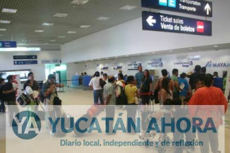 Aeronaves huyen de Quintana Roo y se refugian en Mérida