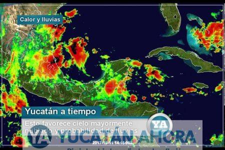 Pronostican jueves y viernes de calor y lluvias vespertinas