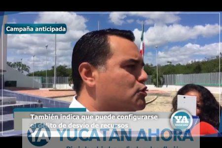 Renán Barrera formaliza denuncia contra Sahuí ante la PGR
