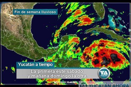 Vienen reforzadas dos ondas tropicales, más nublados y lluvias