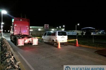 Trágico atropellamiento en la carretera Mérida-Valladolid