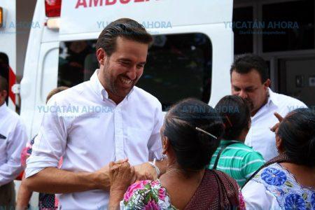 Pablo Gamboa: Más de 200 millones de pesos gestionados para Yucatán
