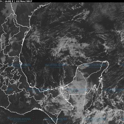 Pronostican lluvias y vientos superiores a 50 km/h en la costa de Yucatán