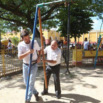 Anuncia Pablo Gamboa que cambiará la imagen de 12 municipios