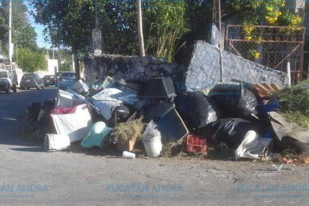 Montones de basura se quedan en las calles tras corta campaña de descacharrización