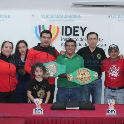 Campeón mundial de kick boxing será sinodal de 11 aspirantes yucatecos a cintas negras
