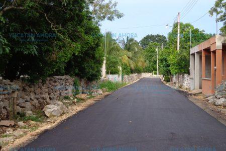 Baca ya luce nuevas y mejoradas calles