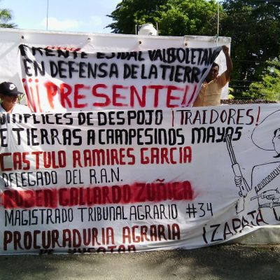 Ejidatarios de Punta Laguna simpatizan con Morena pero escucharán a otros candidatos