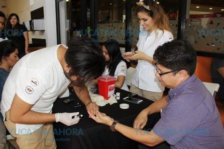 Buscan diabetes entre los alumnos y maestros de la Universidad Marista