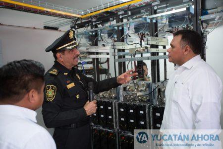 En comunicaciones la Policía de Yucatán ya está a la par con Sedena, Marina y PGR