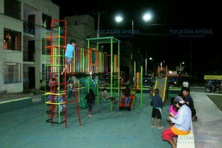 Rescatan icónico parque infantil de la Croc Kanasín
