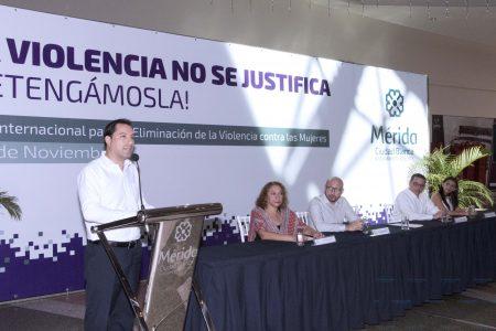 Lanza Mauricio Vila campaña contra la violencia