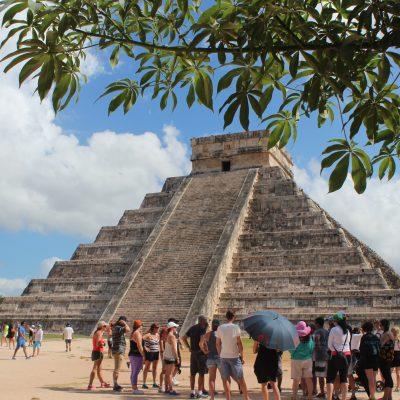 Chichén Itzá rebasa a Tulum en el número de visitantes