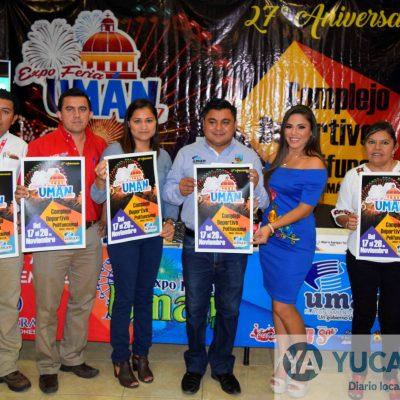 Umán festeja aniversario de nombramiento de ciudad con Expo Feria