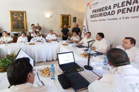 Plan federal para fortalecer el estatus de seguridad en Yucatán