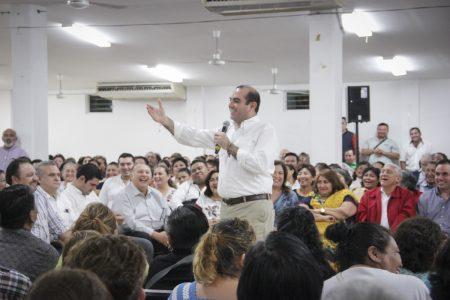 Llama Felipe Cervera a prisitas a no dejarse dividir por actores políticos