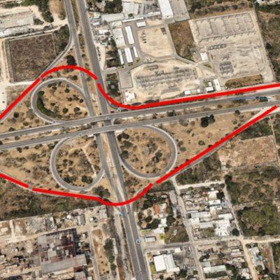 Este lunes inicia la modernización del distribuidor vial Mérida-Progreso