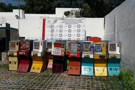 PGR investiga por mini-casinos y piratería decomisada en Valladolid y Mérida
