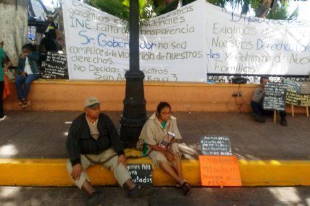 Vecinos de San Antonio Kaua exigen al gobierno seguir siendo parte de Mérida