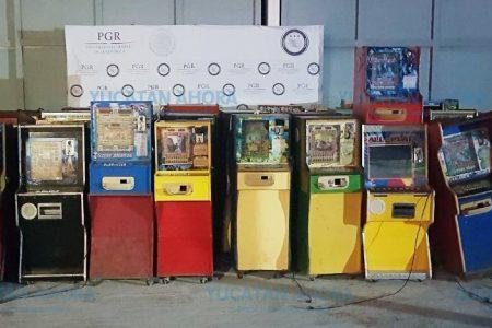 'Barren' con mini-casinos en Tekax, Oxkutzcab, Ticul y Muna