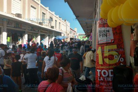 Comercios llenos en Mérida, por El Buen Fin 2017