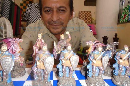 El bien contra el mal en una batalla mortal en el tablero de ajedrez
