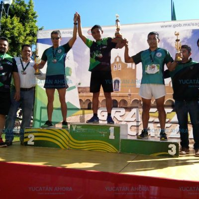 Más de 300 participantes en la 1ra. Carrera Arráigate Sagarpa en Yucatán