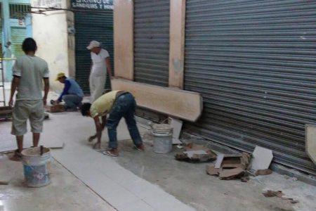 Arrancan los trabajos de mejora en el mercado Lucas de Gálvez