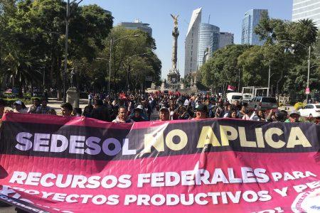 Segob y otras dependencias federales no le cumplen al pueblo: Antorcha