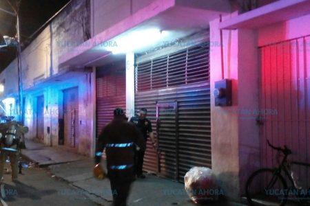 Se quema Alamilla, en el centro de Mérida