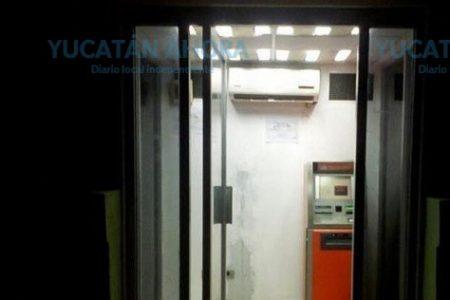 Saquean de nuevo el cajero automático de la avenida Zamná