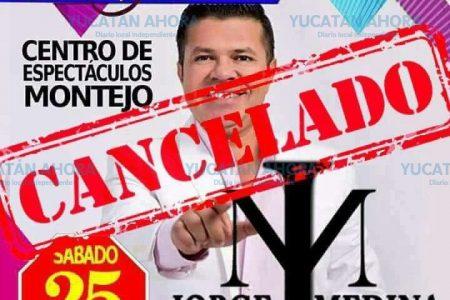 Cancelación de show evidencia agotamiento de la Feria Yucatán
