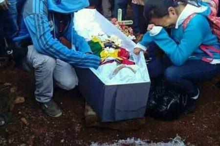 Injusticia de vivos no deja descansar a un adolescente fallecido trágicamente