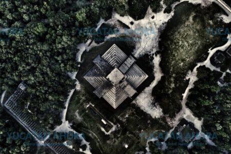 La foto de Chichén Itzá que genera un debate sobre el uso de drones