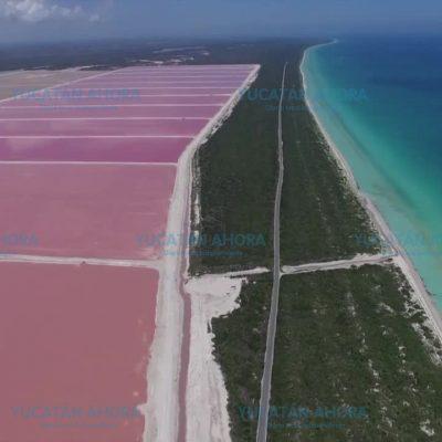Piden a Rolando Zapata que cumpla y amplíe la carretera a la laguna rosada