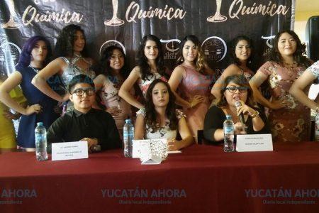 Nueve aspirantes buscan el título Miss Química 2017